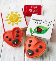 Lady Bug Cookie Card