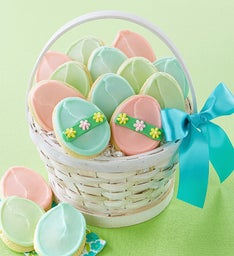 Buttercream Frosted Easter Basket