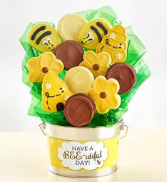 Have a Bee-utiful Day Cookie Flower Pot