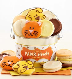 You Are Paws-itively The Best Buttercream and Crunchy Cookie Pail