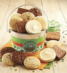 Gluten Free Happy St. Patrick's Day Cookie and Brownie Pail