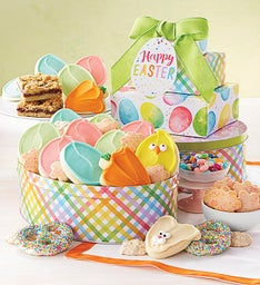 Easter Gift Tin Tower