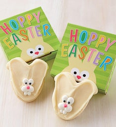 Hoppy Easter Cookie Card