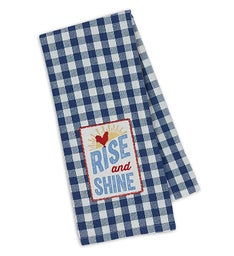 Rise & Shine and Red Rooster Kitchen Towel Set