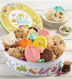 Easter Gift Tin with Treats