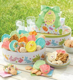 Cookie towers send a gift tower for any occasion cheryls easter gift tin tower negle Choice Image