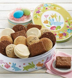 Gluten free cookies and brownies cheryls gluten free easter gift tin negle Image collections