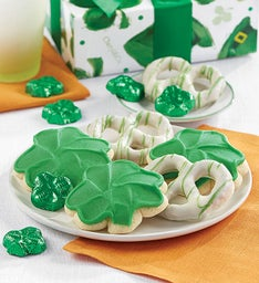 St Patrick39s Day Cookies and Pretzels