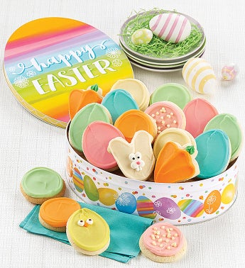 Easter Gift Tin Frosted Assortment