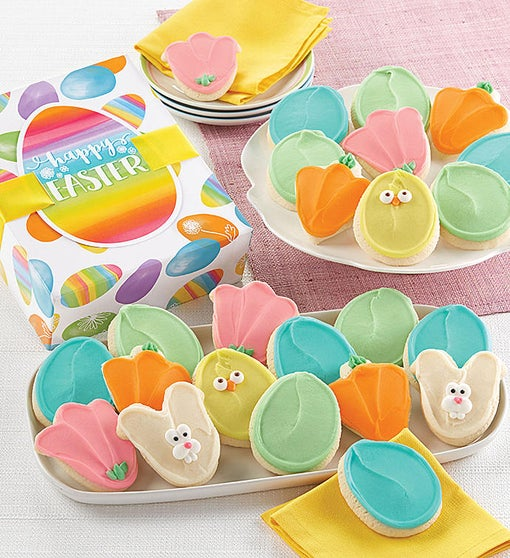 Easter Cut-out Cookie Gift Boxes