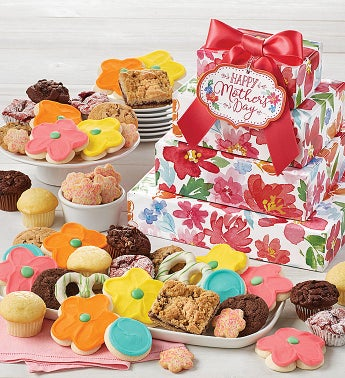 Mother39s Day Bakery Gift Tower