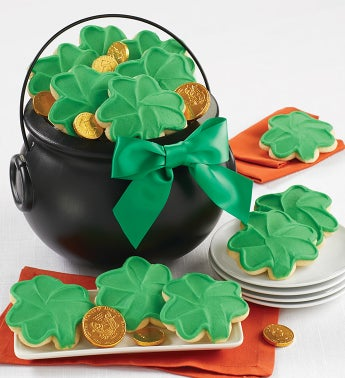St Patricks Good Luck Pot