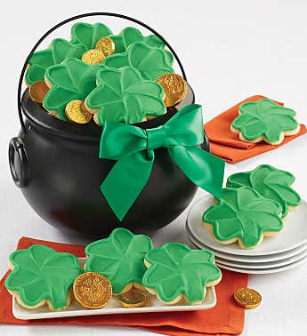 St Patrick's Good Luck Pot