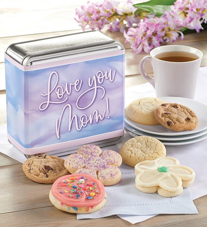 Love You Mom Cookie Tin