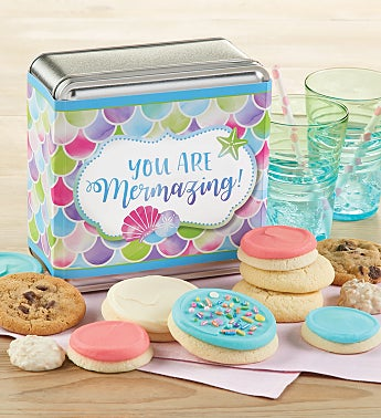 You are Mermazing Treats Gift Tin