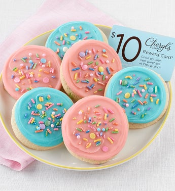 Cheryl's Cookies Rainbow Unicorn and Sparkly Cookie Sampler + $10 Cheryl's Reward