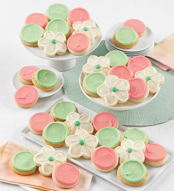 Buttercream Frosted Cut-out Cookies - 36
