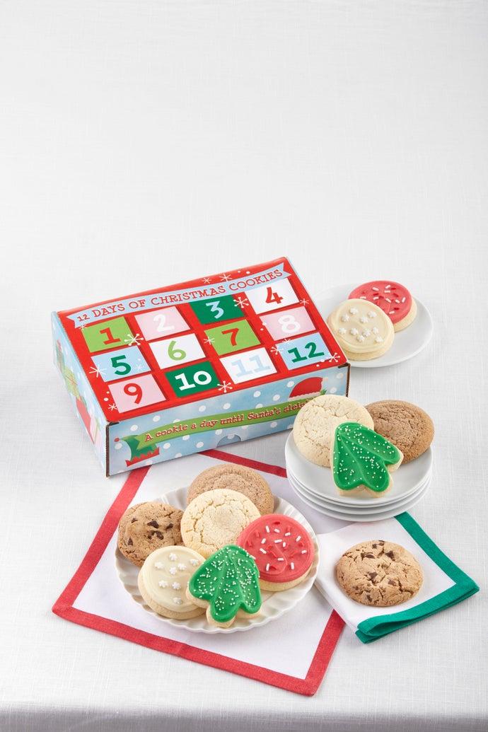 The 12 Days of Christmas Cookie Box
