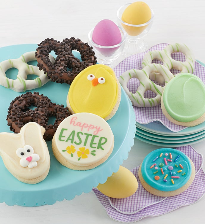 Easter Cookies and Pretzels