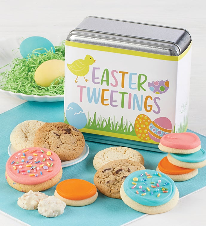 Easter Mini Treats Gift Tin - Easter Tweetings