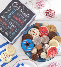 Summer Celebration Gift Tin - Treats Assortment