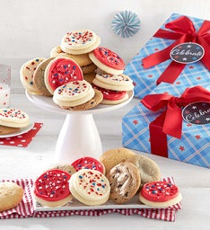 Americana Cookie Boxes