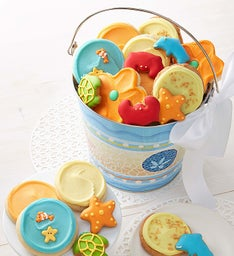 Beachtime Frosted and Crunchy Cookie Pail