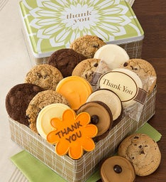 Thank You Gift Tin  - Classic Cookies