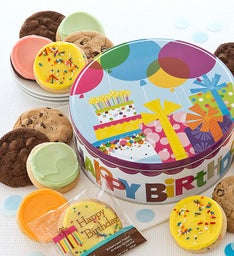 Musical Birthday Gift Tin - Create Your Own