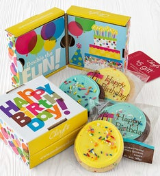 Happy Birthday 2 Pack Cookie & Gift Card