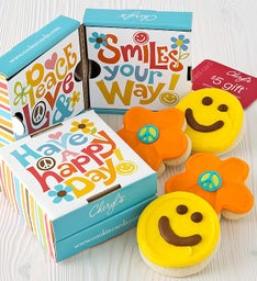 Happy Face Cookie & Gift Card 2 Pack