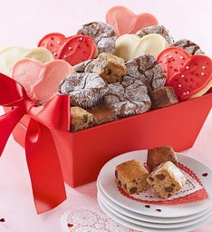 Valentine's Day Truffles, Cookies & Brownies