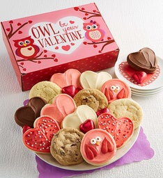 Owl Be Your Valentine Cookie Box
