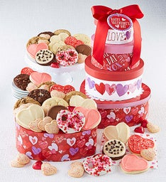 Valentine Gift Tin Tower