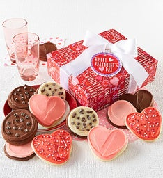 Buttercream Frosted Valentine Cookie Boxes