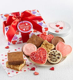 Valentine Cookie & Brownie Gift Boxes