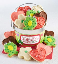 Valentine Toad-ally Awesome Cookie Pail