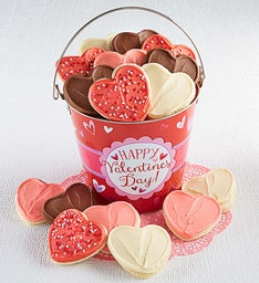 Happy Valentine's Day Cookie Pail