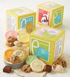 Alphabet Treats Block Box