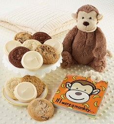 Monkey Book and Cookies