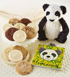 Panda Book and Cookies