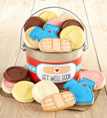 Get Well Soon Cookie Pail