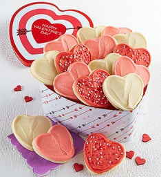 Buttercream Frosted Heart Shaped Gift Tin