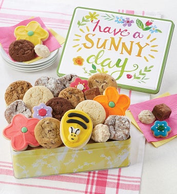 Have a Sunny Day Gift Tin - Treats Assortment