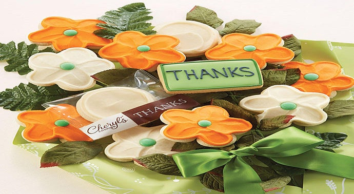 Cookie Flowers - Thank You Bouquet