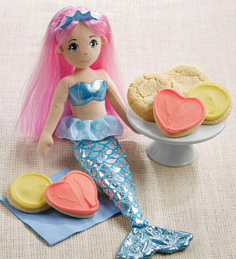 Arissa Mermaid Doll and Cookies