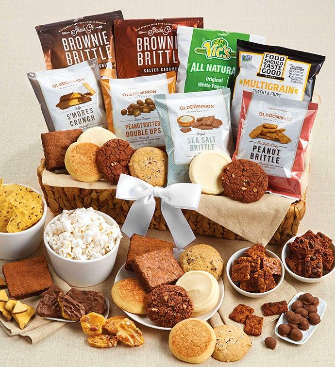 Gluten free cookies and brownies cheryls gluten free grand dessert basket negle Choice Image