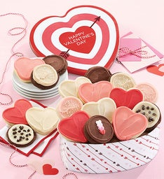 Happy Valentine Gift Tin Frosted Assortment