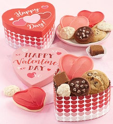 Heart Shaped Valentine Treats Box