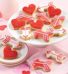 Mini Valentine39s Day Crunchy Sugar Cookies